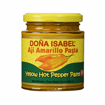 Dona Isabel Aji Amarillo Pasta (Yellow Hot Pepper Paste) 7.5oz
