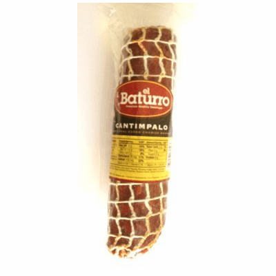 El Baturro Chorizo Cantimpalo (Traditional Cured Chorizo Sausage)made with Spanish Paprika Package 10 oz