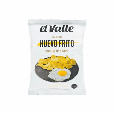 El Valle Flavor Fried Egg Potato Chips Net WT. 3.5 oz