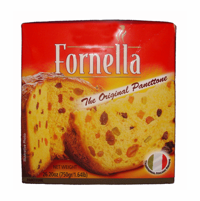 Fornella The Original Panettone 26.20 oz., (750 grs)