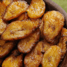 Fried Sweet Plantains Recipe | Receta Plátanos Maduros