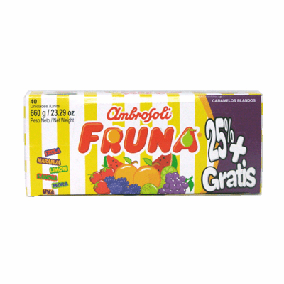 Fruna Caramelos 23.9 oz. (40 pieces)