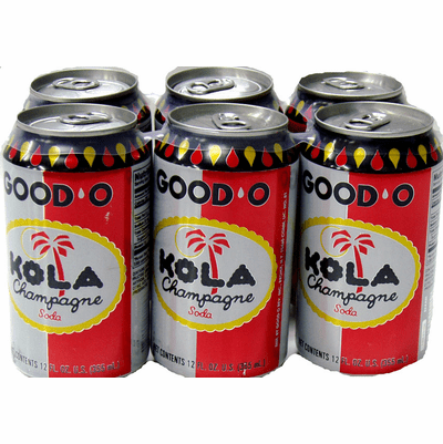 GOOD O KOLA Champagne  Soda 6 Pack 12 oz. Cans