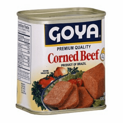Goya Corned Beef Net Wt.12 oz