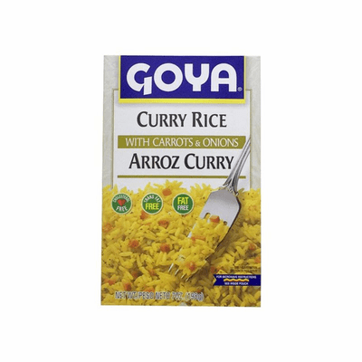Goya Curry Rice With Carrots & Onions Net.Wt 7 oz