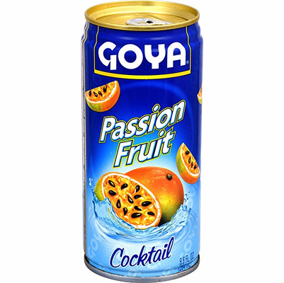 Goya Passion Fruit Cocktail Net.Wt 9.6 oz