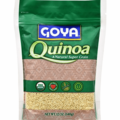 Goya Quinoa a Natural Super Grain Organic Net.Wt 12oz