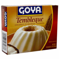 Goya Tembleque Coconut Flavored Pudding Net.Wt 3.5 oz