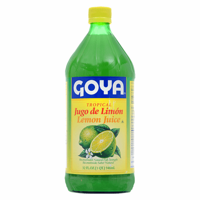 Goya Tropical Lemon Juice Net.Wt 32 oz