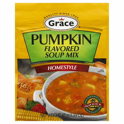 Grace Pumpkin Flavored Soup Mix Net.Wt 45g
