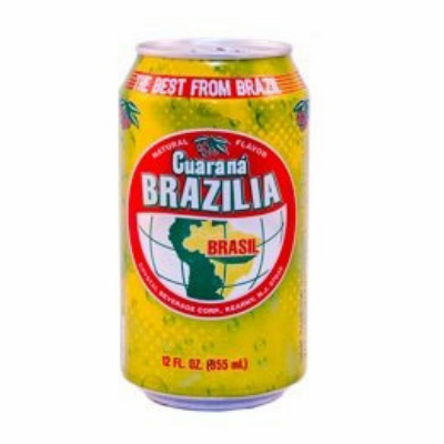Guarana Brazilia Soda 12 oz Cans 12 Pack