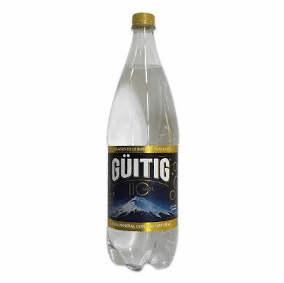 Guitig Sparkling Nature Water Net. Wt 500 ML
