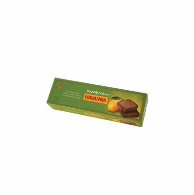 Havanna Galletitas Limon cubiertas con chocolate 300 grs (12cookies)