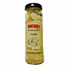 Iberia Ajos Blancos Españoles (White Garlic ) Glass Bottle 3.5oz