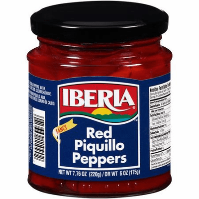 Iberia Whole Piquillo Peppers 10 oz.
