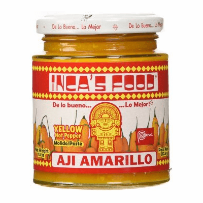 Inca's Food Aji Amarillo Yellow Hot Pepper Paste 15.7 oz