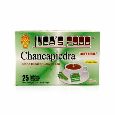 Inca`s Food Chancapiedra ( Stone Breaker Leaves Tea ) 25 tea bags Net.Wt 1.23 oz