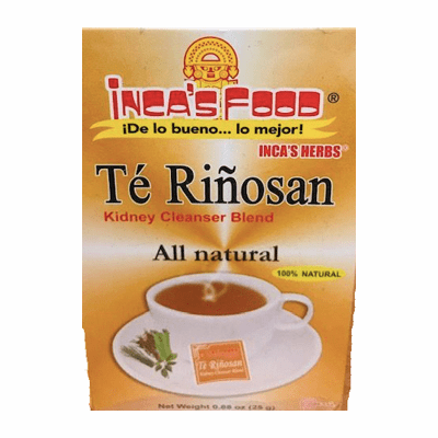 Inca's Food Te Rinosan ( Kidney Cleanser Blend) Net.Wt 25 g 25 tea bags