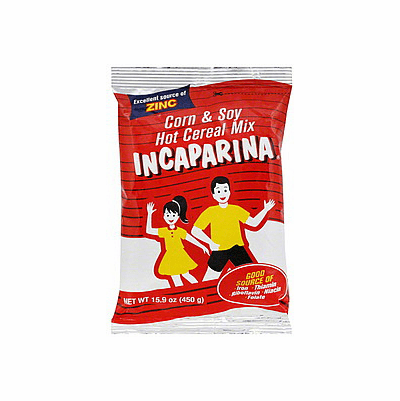 INCAPARINA Cereal Corn & Soy Hot Cereal Mix 15.9 oz