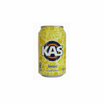 KAS Limon Soda 8 pack 12 oz Cans