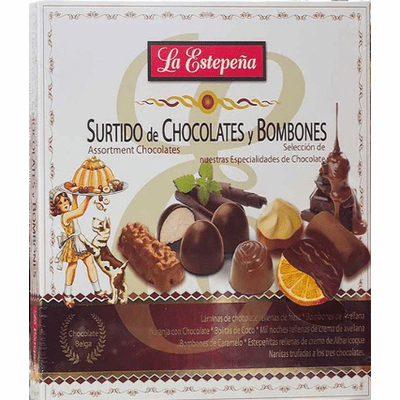 La Estepeña Surtido de Chocolates y Bombones (Assortment Chocolates) 310g