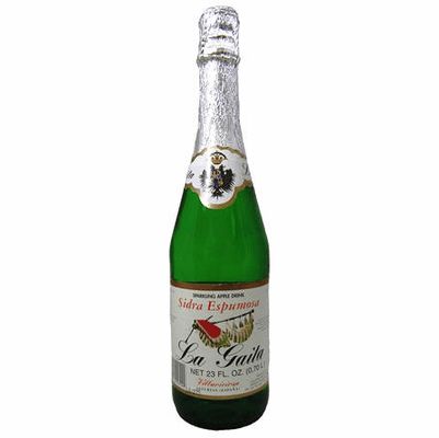 La Gaita Sidra (Sparkling Apple Drink) NET 23 oz