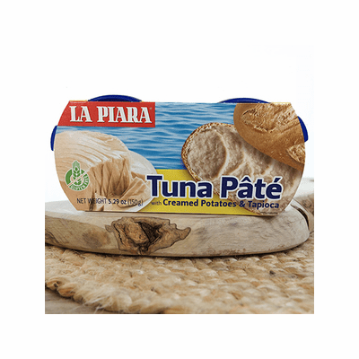 La Piara Tuna Pate with creamed Potatoes&Tapioca Net. Wt 5.29 oz