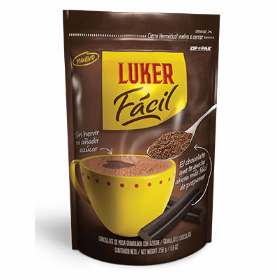 Luker Facil Chocolate de Mesa Granulado con Azucar (Granulated Chocolate) 250g
