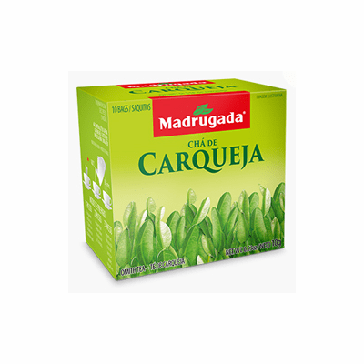 Madrugada Cha de Carqueja (Omith Tea) package weighing 10g containing 10 bags - Brazil