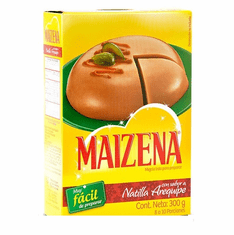 Maizena Natilla con Sabor a Arequipe (Caramel Flavored Custard) Box 600 yields 16 to 20portions