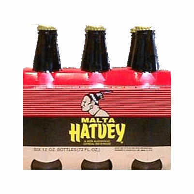 MALTA HATUEY 6 Pack 12 oz. Bottles