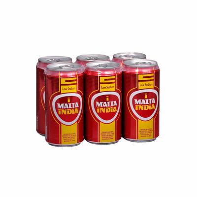 Malta India 6 Pack 10 oz. Cans