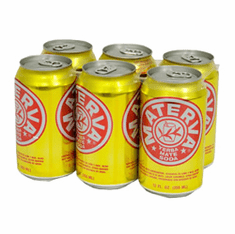 MATERVA Yerba Mate Soda 6-Pack Cans 12 oz