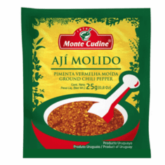 Monte Cudine Aji Molido ( Ground Chili Pepper ) Net. Wt 25g