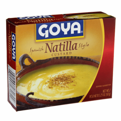 Natilla Goya 3.25 oz.