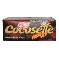 NESTLE Cocosette Maxi Galleta Rellena De Coco 900 grs.(18 pieces of 50 grs.each)