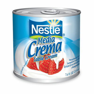 Nestle Media Crema (Table Cream) Net Wt 7.6oz