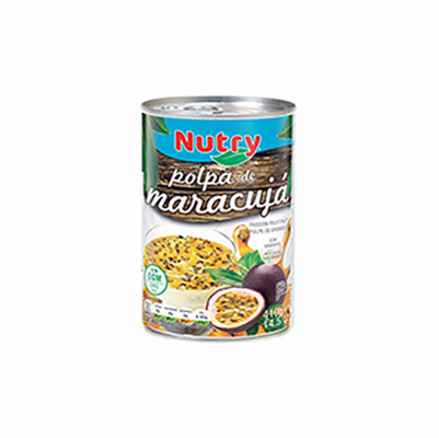 Nutry Pulpa De Maracuya con Pepas ( Passion Fruit Pulp with Seeds ) Net. Wt 14.5 oz