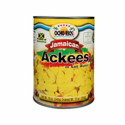 Ocho Rios Jamaican Ackees in Salt Water Net.Wt 19 oz