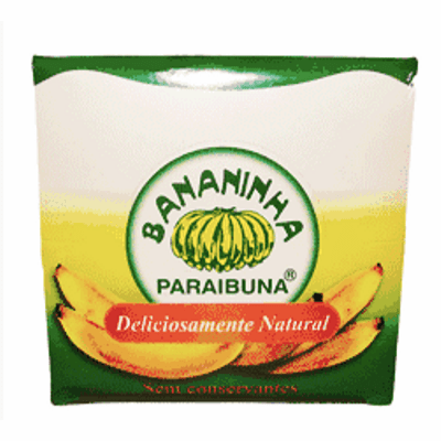 Paraibuna Bananinha 4 pieces of 36 grs.each