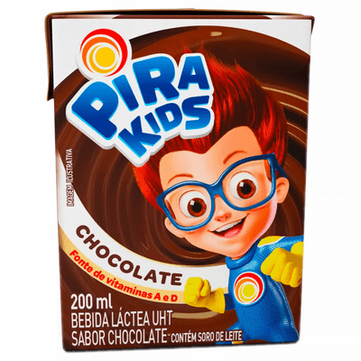 Pira Kids Chocolate ( Chocolate milk Drink ) Net.Wt 200ml
