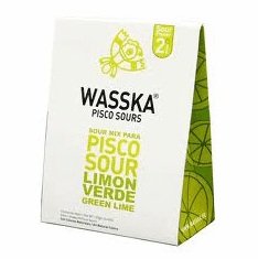 Pisco Sour Mix Traditional Wasska 125 grs.