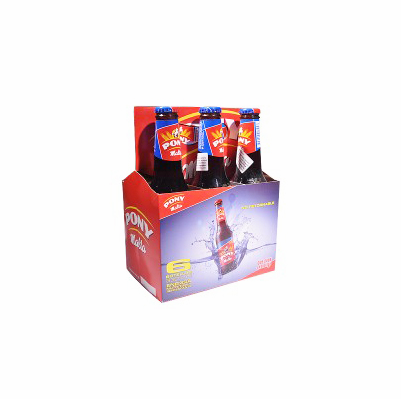 PONY Malta 6 Pack 11.1 oz. Bottle