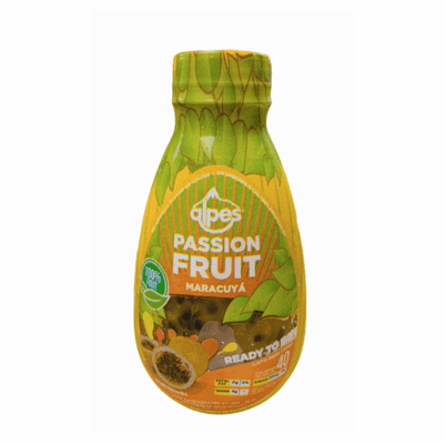 Pulpa de Maracuya ( Passion Fruit Pulp ) Refrigerate after  open - Alpes Real Tropical Fruit Net Weight 1lb