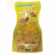 Pulpa de Maracuya ( Passion Fruit Pulp ) Refrigerate after open - Alpes Real Tropical Fruit NET WT.1lb