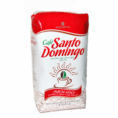 SANTO DOMINGO COFFEE Cafe Molido 1 lb. Dominican Ground Coffee