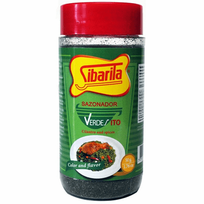 Sibarita Sazonador Verdesito Seasoning Spices and Cilantro (1.76 Oz) 50g