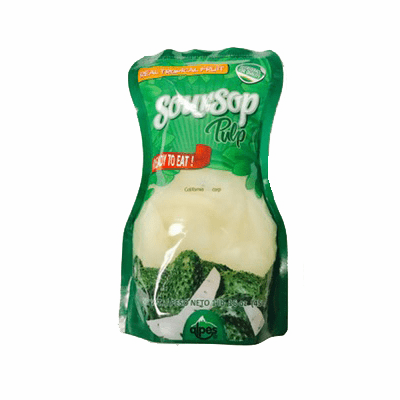 Soursop Pulp ( Pulpa de Guanabana) Alpes Real Tropical Fruit refrigerate after open NET WT.1lb