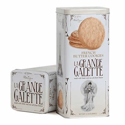 St Michel La Grande Galette French Butter Cookies Net.Wt 1.3 lb
