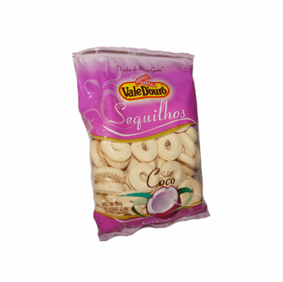 Vale D'ouro Sequilhos Sabor Coco 350g